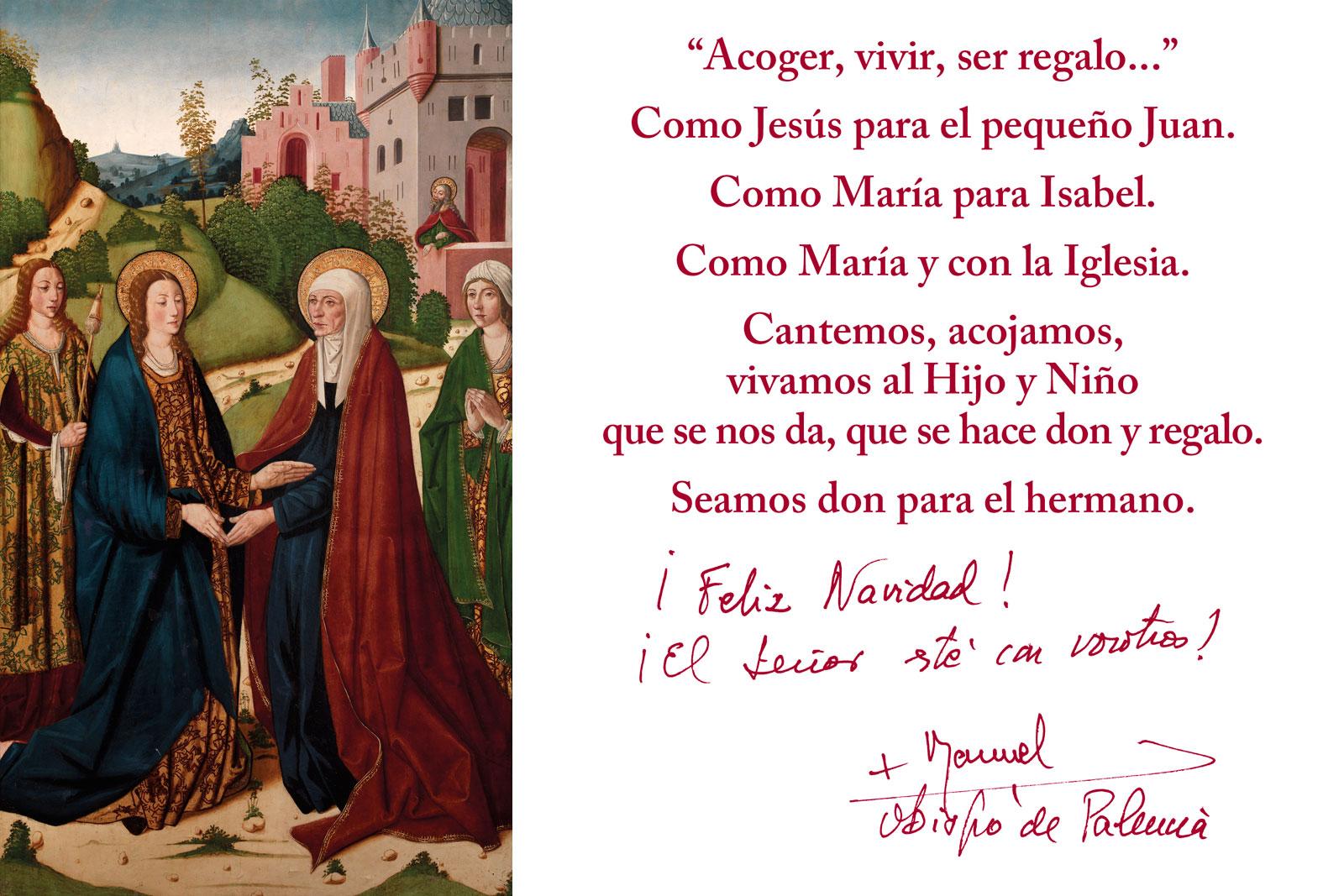 8412c82502c Diócesis de Palencia - Navidad 2018 - Acoger